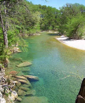 Texas Hill Country Vacation Riverfront Cabins For Rent In